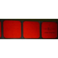 Стрічка світлоповертальна контурна 3м червона