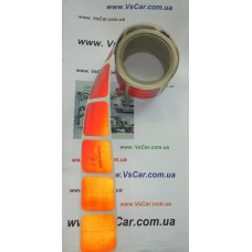 Стрічка світлоповертальна контурна 3м жовта