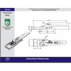 Защіпка борту Steelpres  SPP ZB-01A